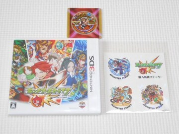 3DS★モンスターストライク 初回特典 火之夜藝速男神カグツチ付