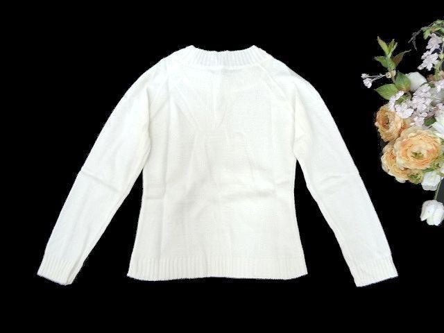 新品 BeLLEVAH クルーネック ニット セーター 無地 シンプル < 女性ファッションの