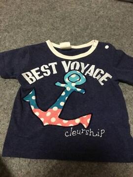 男の子用  マリンデザイン Tシャツ 90