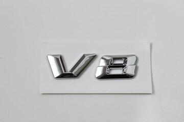 V8エンブレム ベンツ風タイプ AMG ロリンザ