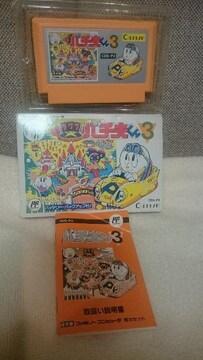 中古 ファミコン カセット パチ夫くん3(パチンコ) 1990