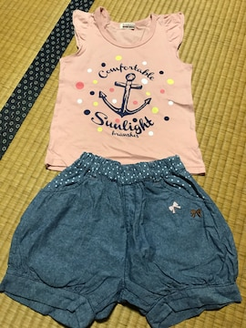 美品 まとめ売り ブランシェス キッズ Tシャツ パンツ 110