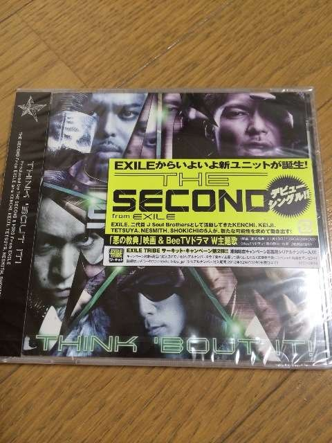 THINK 'BOUT IT! THE SECOND from EXILE CD 新品 美品  < タレントグッズの