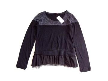 新品 ワールド ALBUM アルブム ラメ使い ニット セーター