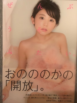 激安!超レア!☆おのののか/1st写真集 ぜんぶうそみたい☆超美品!