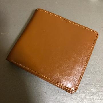 1スタ 極美品☆ DITRAIL  キャメル レザー 折財布