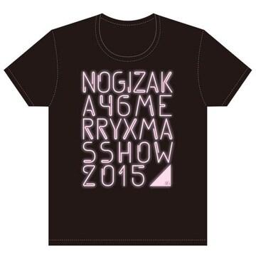 即決 乃木坂46 Tシャツ Merry X'mas Show 2015 _ ピンクver. L