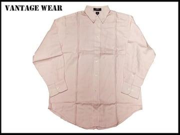 新品VANTAGE USAage長袖 USA サイズ アメリカ輸入品ピンクーXL