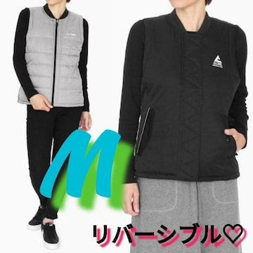 M位¥12980新品☆リバーシブルベスト153