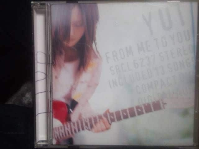 YUIファーストアルバム「FROM ME TO YOU」  < タレントグッズの