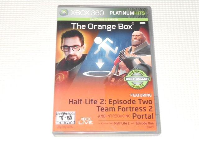 xbox360★THE ORANGE BOX FIVE GAMES ONE BOX 海外版  < ゲーム本体/ソフトの