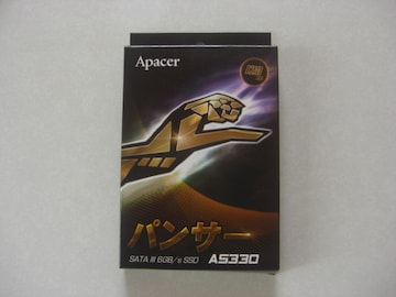 Apacer パンサー SATA lll 6GB/s SSD AS330 120GB