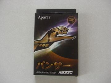 Apacer パンサー SATA lll 6GB/s SSD AS330 120GB