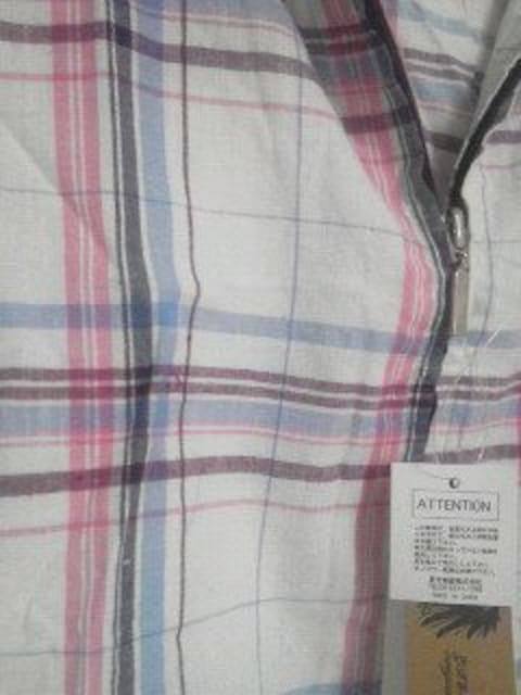 A-88★新品★半袖シャツパーカー M < 男性ファッションの