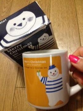 新品未使用 シンジカトウ Shinji Katoマグカップ クリスマス スノーマン