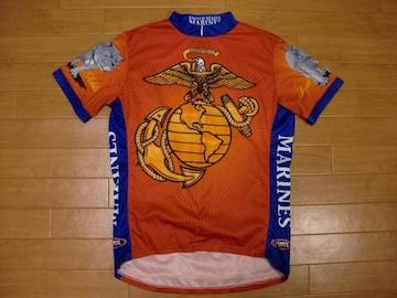 プライマル アメリカ海軍 US MARINES サイクルジャージ L