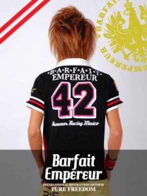 BarfaitEmpereur(バルフェアンプルール)パイルポロシャツS < 男性ファッションの