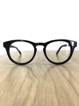 Han Kjobenhavn(ハンコペンハーゲン)ブラックフレーム 眼鏡メガネ