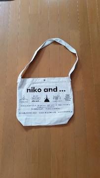 非売品 nikoand ニコアンド ショルダー バッグ い・ろ・は・す
