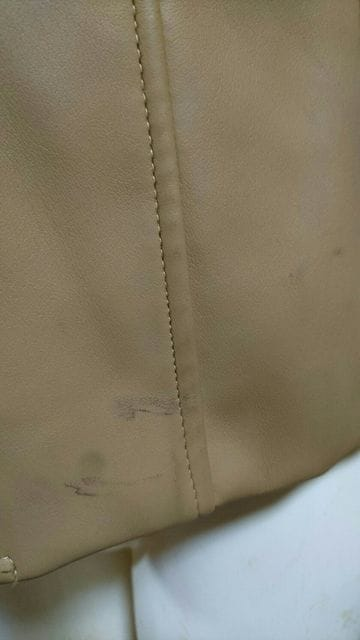 prana フェイク レザー ジャケット < 女性ファッションの