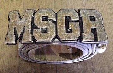 《MSGR》バックルベルト ステューシー  スワッガー FAT BAL AG