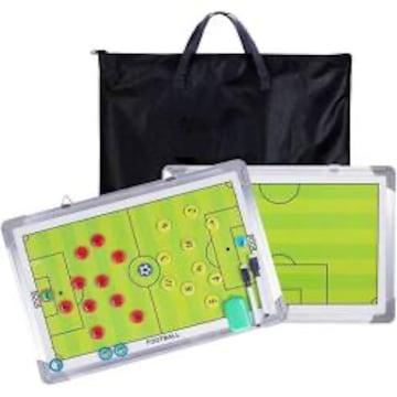45*30*2cm 作戦盤 サッカーボード コーチ戦略指導 ジュラルミン