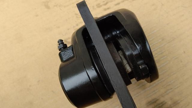 Z400FX キャリパー右 固着無良品GS400CBX400Z550FXマスター ディスク ハンドル