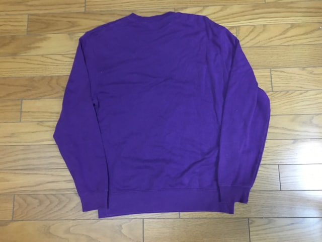 中古ナンバーナイン×STUDIOUSスウェット1シミあり紫色 < ブランドの