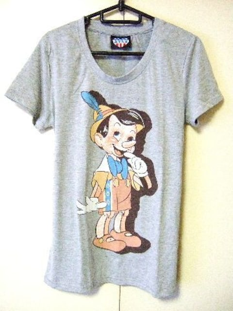 ☆新品☆JUNK FOOD×Disney☆ジャンクフード☆ピノキオ☆Tシャツ☆  < ブランドの