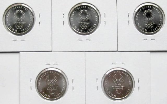 ◆東京2020オリンピック・パラリンピック 3次 百円 5種組 < ホビーの
