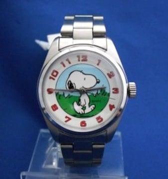 スヌーピーメタルウォッチ-snoopy腕時計