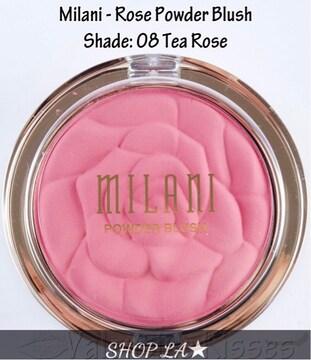日本未発売★ROSE POWDER BLUSH TEA ROSE
