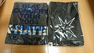 GLAY X-RATED Tシャツ、マフラー新品未開封。
