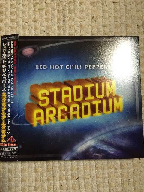RED HOT CHILI PEPPERS レッチリ STADIUM ARCADIUM  < CD/DVD/ビデオの
