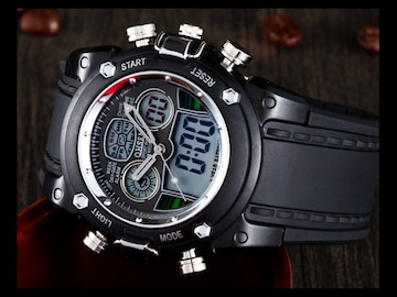 デジタル腕時計 新品★5 3 最新モデル スマート 多機能 swatch