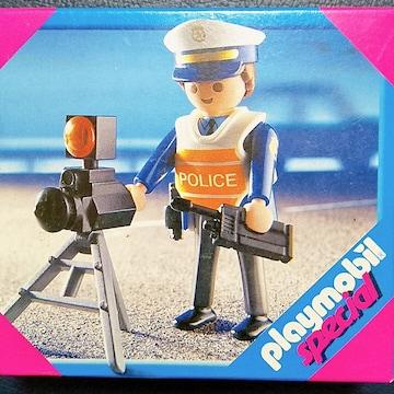 ●新品●プレイモービル スペシャル 4900 交通課の警察官★