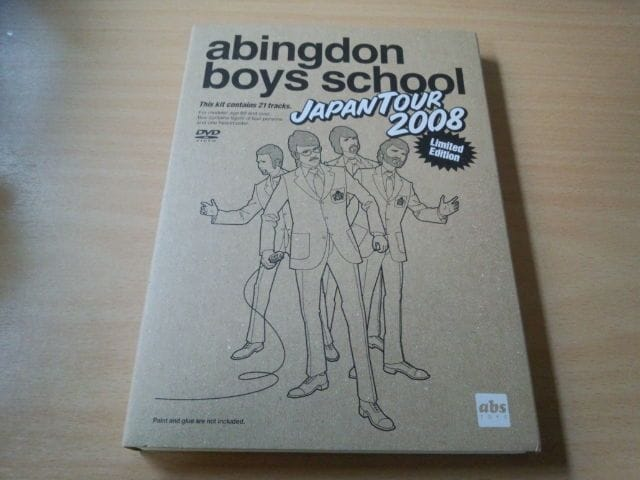 DVD「abingdon boys school JAPAN TOUR 2008」西川貴教 初回盤●  < タレントグッズの