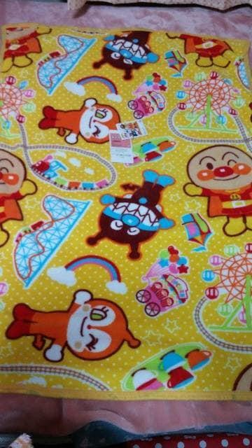 ☆アンパンマンお昼寝毛布 約85×120�p < おもちゃの