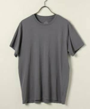 Save khaki☆送込み スーピマコットンTシャツ/グレー L
