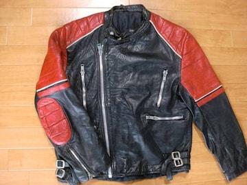 ヴィンテージ イングランド製 ライダースジャケット L