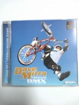 (PS)Dave Mirra freestyle BMX/デイブミラ フリースタイルBMX☆即決アリ