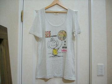 vintagePEANUTS/サリープリントTシャツ