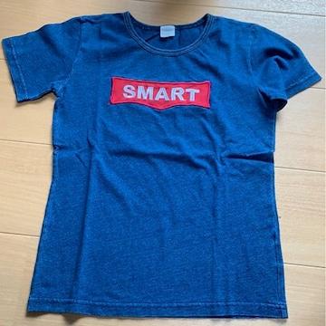 スキップランド!140センチ半袖Tシャツ/デニムカラー