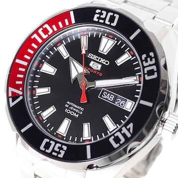 セイコー  腕時計 メンズ SRPC57K1 SEIKO5 SPORTS 自動巻き
