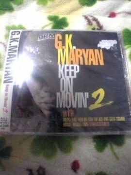 未開封CD,G.K.MARYAN Keep on Movin'2