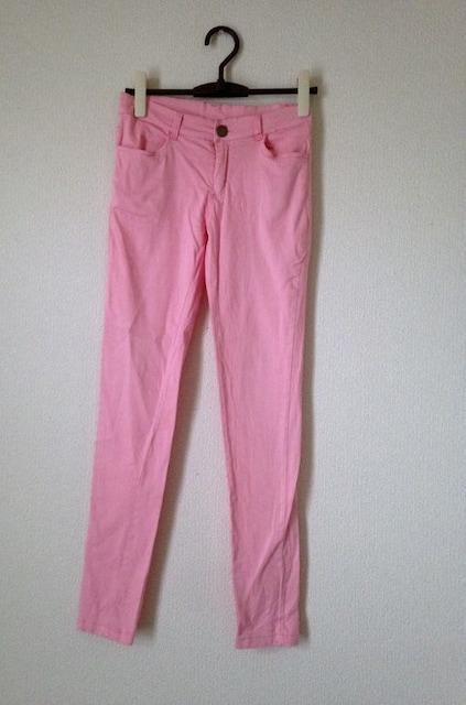 Gladys◆ピンク ストレッチ スキニー レギパン  パンツ M  < 女性ファッションの