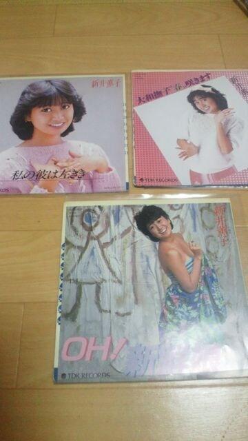 廃盤レアEPレコード!新井薫子シングルレコード6枚コンプリート☆ < CD/DVD/ビデオの