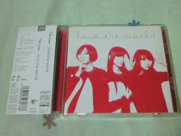 CD+DVD Perfume love the world 初回限定盤 パフューム