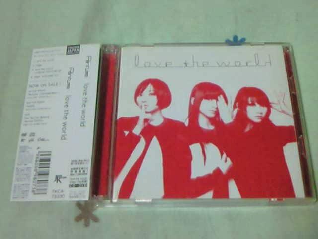 CD+DVD Perfume love the world 初回限定盤 パフューム  < タレントグッズの