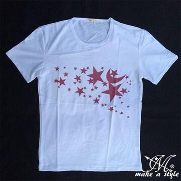 スターズ Tシャツ TEE 半袖 星 STAR 流星 流れ星 B系HIPHOP281XL